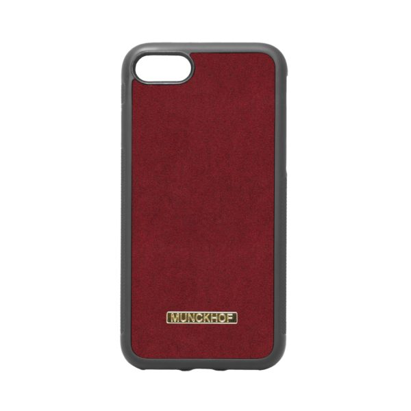 Red Alcantara iPhone 7/8 Case