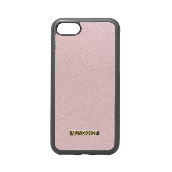 Pink Alcantara iPhone 7/8 Case