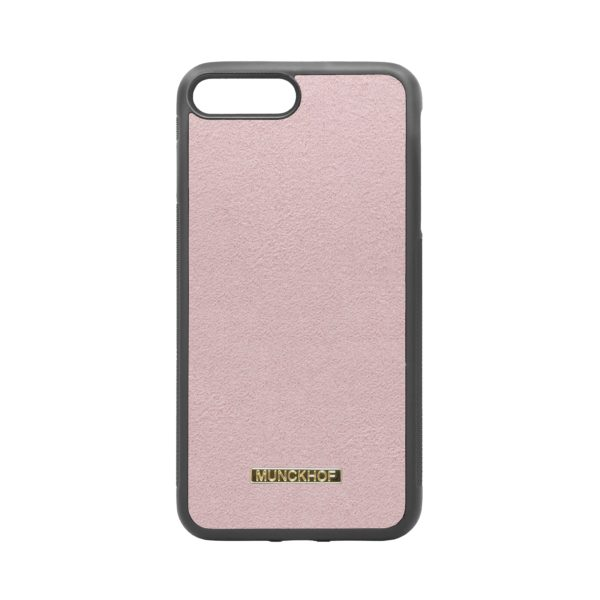 Pink Alcantara iPhone 7 Plus/8 Plus Case