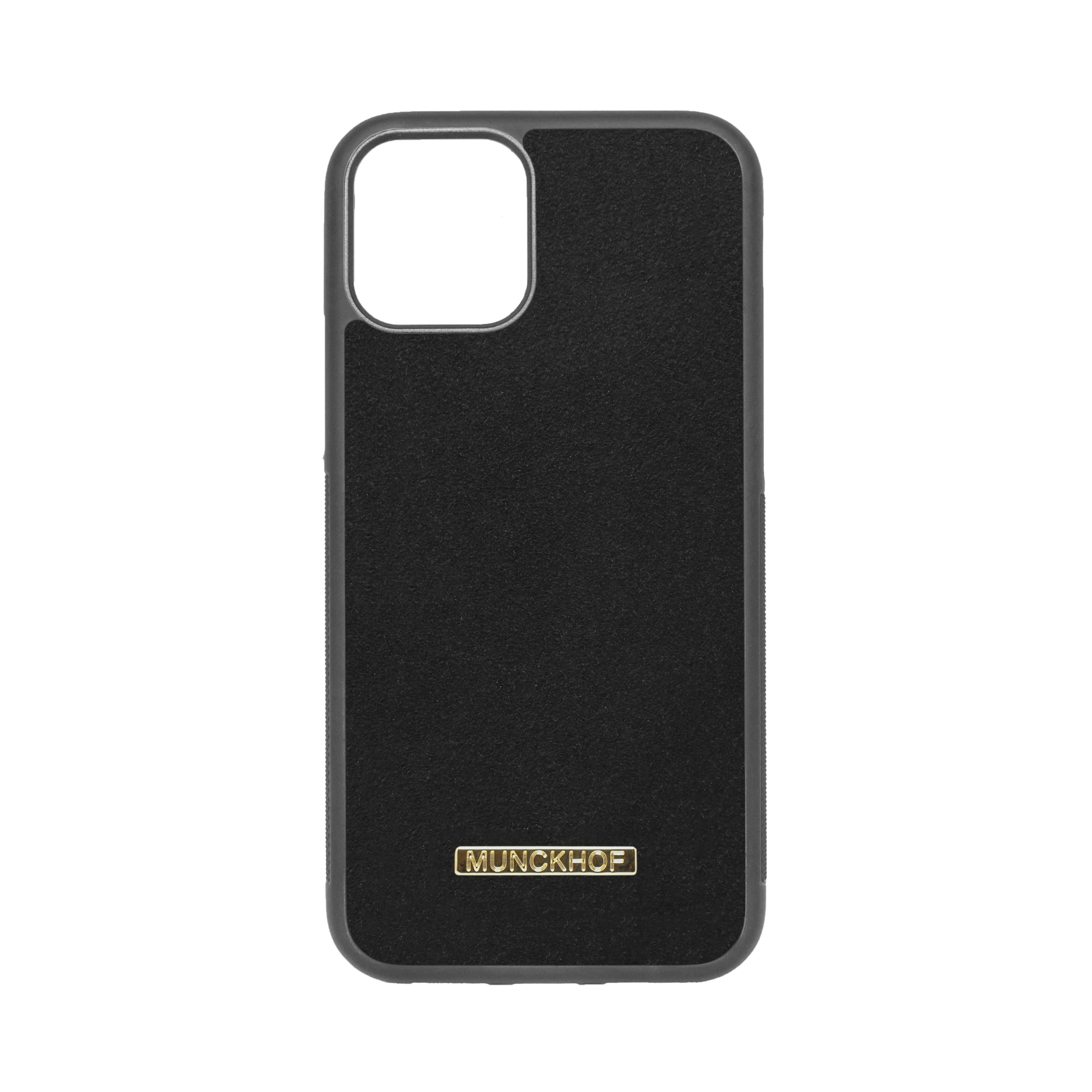 Black Alcantara iPhone 11 Pro Case