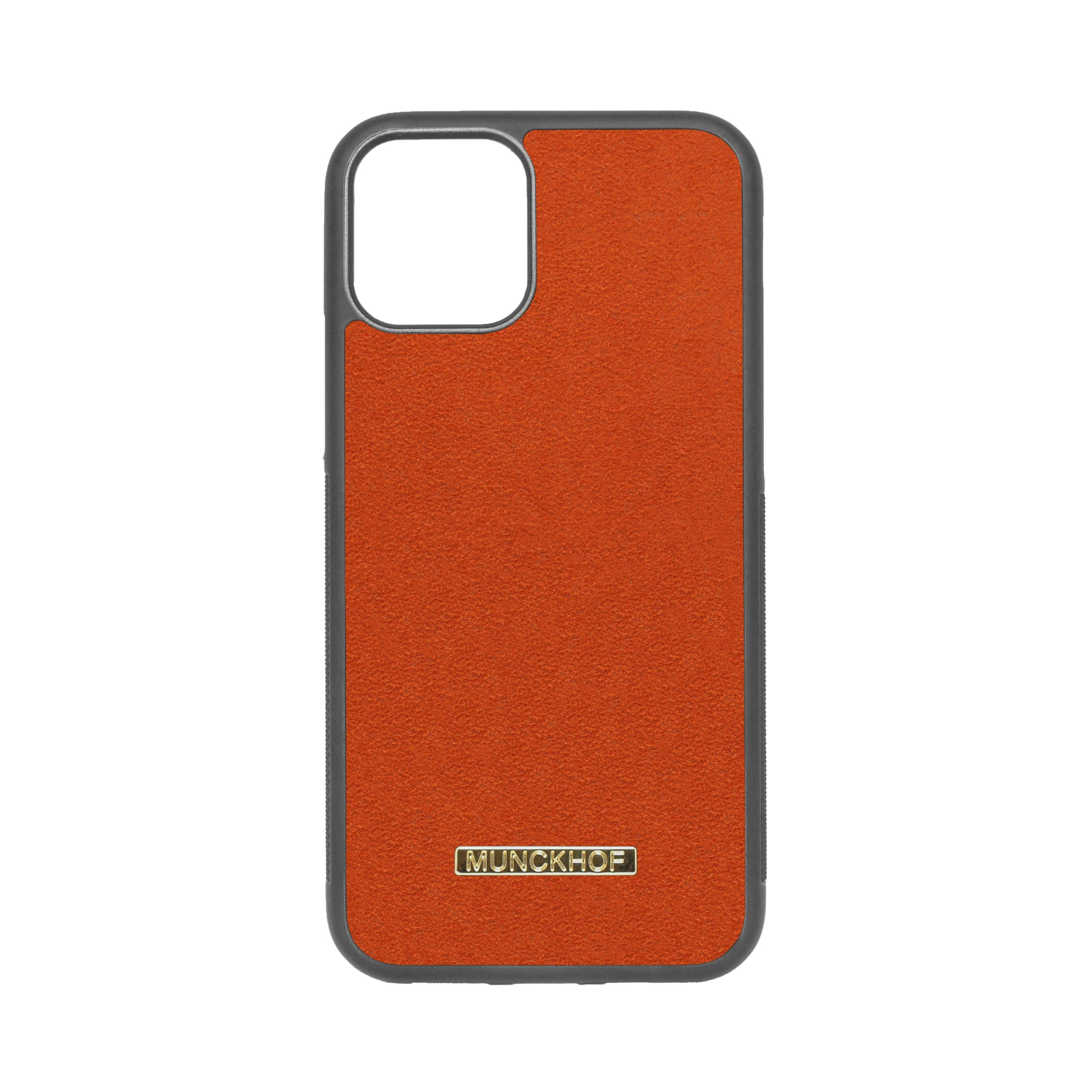 Orange Alcantara iPhone 11 Pro Case