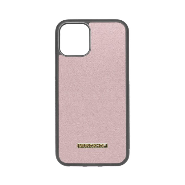 Pink Alcantara iPhone 11 Pro Case