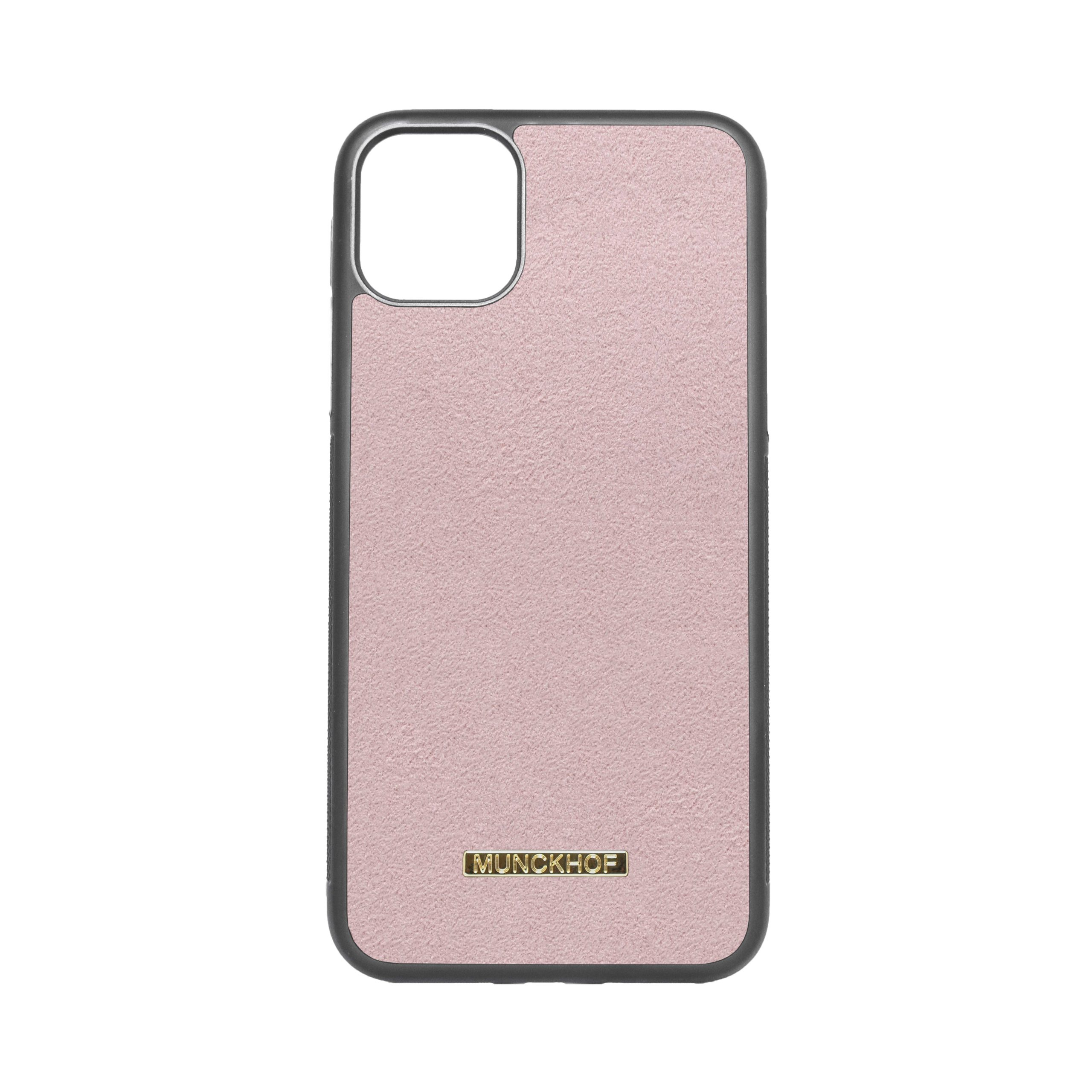 Pink Alcantara iPhone 11 Pro Max Case