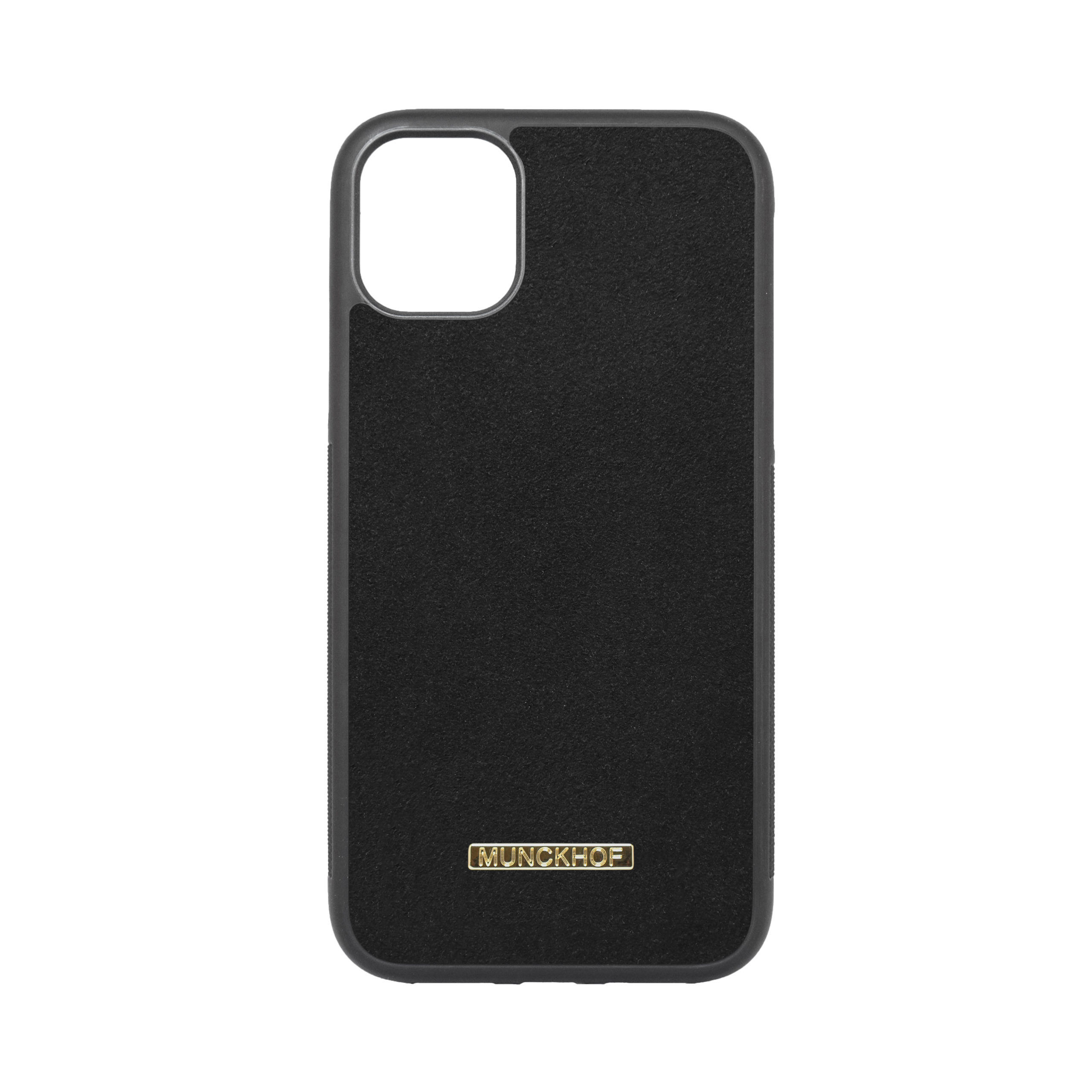 Black Alcantara iPhone 11 Case